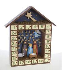 Heaven Sends natività Calendario Avvento - Tradizionali Autoportante In legno