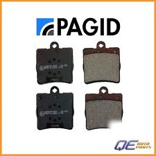 Rear Chrysler Crossfire Mercedes W203 R171 C230 C240 Brake Pad Set Pagid D2720P