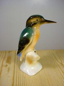 Wagner & Apel Kingfisher Porcelain Figurine