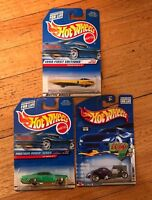 Lot of 3 Hot Wheels