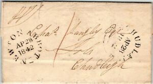 GP GOLDPATH: GREAT BRITAIN STAMPLESS COVER 1842 _CV698_P20