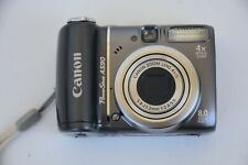 Canon PowerShot A590 IS 8.0MP Digital Camera - Gray