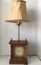 Tell City Chair Company Makers Sample Clock Lamp Patten 3308 Finish Andover #48