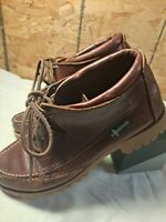 Eastland Womens Moc Toe Leather Hiking Shoes/Boots Size 8.5 M
