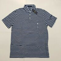 New with tag Mens RALPH LAUREN Blue Navy Stripes Short Sleeve POLO Shirt  M L XL