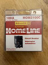 Square D Hom2100C 100 A Miniature Circuit Breaker