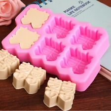 Wedding Soap diy Mould Craft Art Bakeware Tool Silicone Handmade Soap DIY Molds