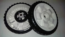 "2 Tires 138-3216 8"" Toro Lawn Mower Rear Personal Pace Wheels replaces 115-4695"