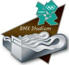 2012 London Olympic BMX Stadium Sculpted Venue Pin
