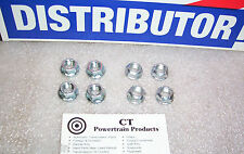 Ford Lincoln Mercury Mazda Jaguar 8 pc Converter Nut Kit 4 x Standard 4 x Metric