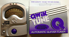 NEW QWIK TUNE QT-11 GUITAR ELECTRIC & BASS TUNER QT11 PITCHPIPE