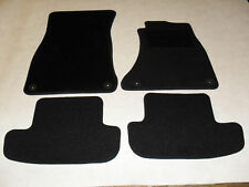 Audi A5 Coupe 2006-2016 Fully Tailored Deluxe Car Mats in Black
