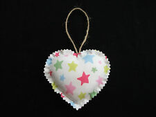 Handcrafted Shabby Chic Fabric Heart Door Hanger – Cath Kidston Shooting Star