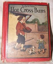 SCARCE 1913 First Bye-Lo Series HOT CROSS BUNS & Other Mother Goose Rhymes