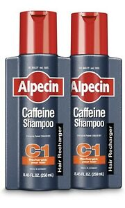 (2) Alpecin Caffeine C1 Shampoo Two Pack New Shipped From USA For Free 8.45
