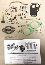 GPW FORD WWII 1941-45 Jeep Carter WO Carburetor Master Rebuild Kit 647745K  G503