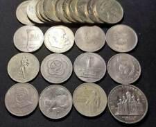 Russia lotto di 22 monete da 1 Rublo. 1 X 5 Rubli.Qualita' BB