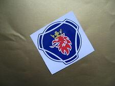 SCANIA Griffin logo sticker/decal x2