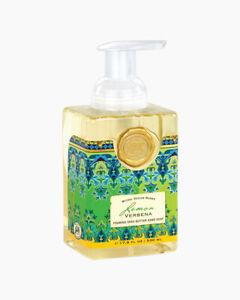 Michel Design Works Lemon Verbena Foaming Shea Butter Hand Soap 17.8 OZ.