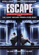 NEW  DVD - ESCAPE - Sylvester Stallone, Arnold Schwarzenegger, James Caviezel,