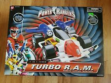 POWER RANGERS TURBO 7 IN 1 TURBO R.A.M. ROBOTIC ARSENAL MOBILIZER W/BOX RAM 1995