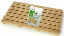 NEW BAMBOO DUCK BOARD WOODEN NATURAL WOOD BATHROOM RECTANGULAR SHOWER BATH MAT