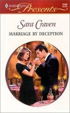 Marriage By Deception, Craven, Sara, 0373121555, Book, Acceptable