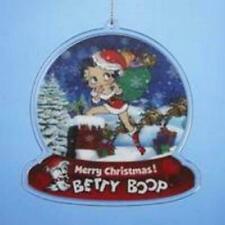 Betty Boop Plastic Hanging Christmas Decoration