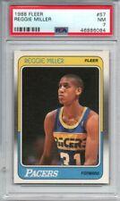 Reggie Miller 1988-89 Fleer Rookie RC #57 PSA 7 NM