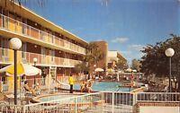 Adel Georgia GA 1960s Postcard Davis Bros Cafeterias & Motor Lodges