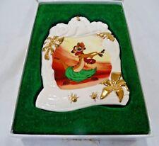 DISNEY CHRISTMAS ORNAMENT Luaui Timon Collector's Society 1998 Box & COA