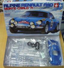 24278 Alpine Renault A110 1971 Monte-Carlo Tamiya 1/24 plastic model kit