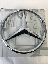 Genuine Mercedes-Benz Silver Radiator Grille Star Badge Emblem A0008173200 NEW