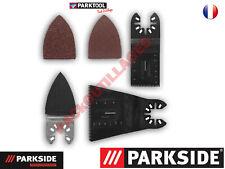 PARKSIDE PERFORMANCE Accessoires pour outil multifonction 8 pièces/bimétal