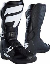 Brand New Shift MX 2018 White Label Motocross Boots Black - Men's Size 11