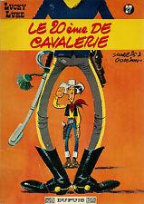 RARE EO MORRIS + GOSCINNY + LUCKY LUKE N° 27 : LE 20 ÈME DE CAVALERIE ( 1965 )