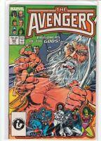 AVENGERS #282 John Buscema Captain America Namor She-Hulk 9.2