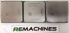LOT 3x AMD ADA3800IAA4CW Athlon 64 2.4GHz/512KB/1000MHz Socket AM2 CPU Processor