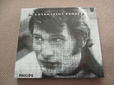 "CD DIGIPACK ""LA GENERATION PERDUE"" Johnny HALLYDAY / 12 titres - 2000"