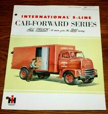 1955 International Harvester Cab Forward Series  Trucks Sales Brochure
