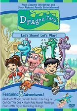 Dragon Tales - Let's Share! Let's Play DVD READ DETAIL SHIP NEXT DAY CARTOON ANI