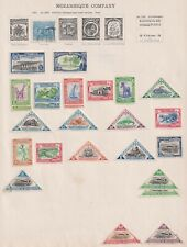 MOZAMBIQUE      Album page of  Mint/Used Stamps (i16)