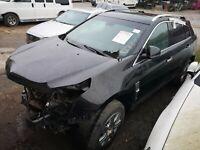 Cadillac SRX 2012 LHD 3.6L petrol LHD US breaking spares repair parts 2013 2014