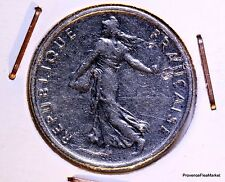 FRANCE - 1/2 franc - 50 centimes semeuse nickel - 1967  ACA832