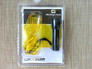UV Lecksuchlampe Bright Pen mit UV Schutzbrille zur Lecksuche Klima KFZ Motoren