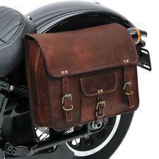 Borsa laterale moto coppia//Borsa Vintage Craftride SV1 8 l marrone
