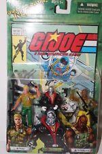 Gi Joe Comic Book Action Figure Set #24 includes Duke, Destro, and Roadblock