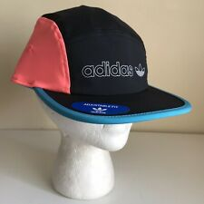 Adidas Five Panel Hat Colorblock Cyclist Adjustable Bill Cap