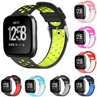 Replacement Sports Silicone Classic Band Strap Wristband For Fitbit Versa