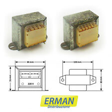Trasformatore lamellare di alimentazione in 220V - uscita 18V - 5A